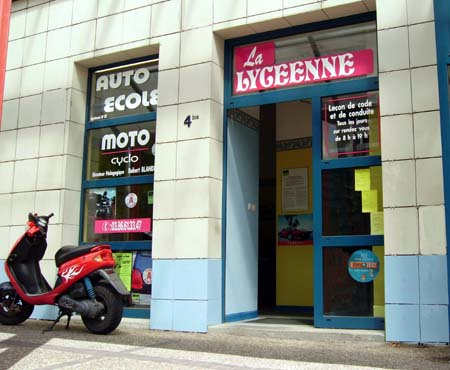 Auto-�cole Nevers, permis auto moto